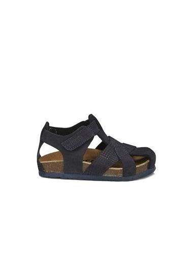 Vicco Vicco 905.20Y.086 Adonis Hakiki Deri Erkek Çocuk Spor Sandalet Ayakkabı Lacivert